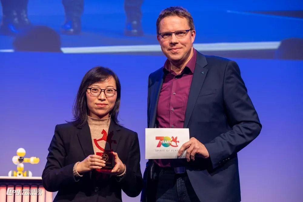 贝尔科教获得ToyAward玩具大奖新增的奖项——Startup